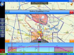 oprogramowanie SkyDemon do nawigacji lotniczej